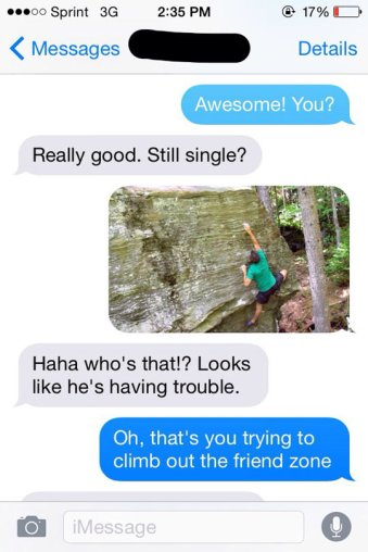 funny-climbing-guy-picture-phone-friend-zone